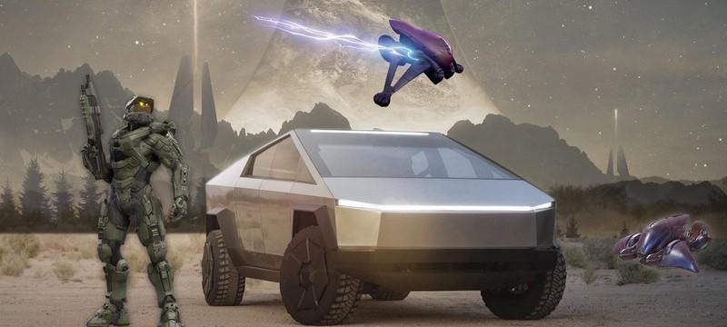Илон Маск: Cybertruck был вдохновлен Halo