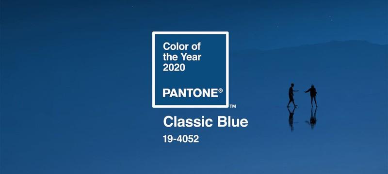 Институт Pantone назвал цвет 2020 года — классический синий