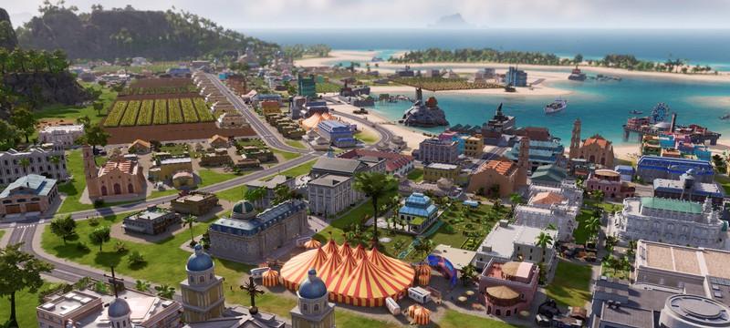 """Для Tropico 6 вышло дополнение """"Лама с Уолл-стрит"""""""