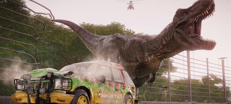 Релизный трейлер дополнения Return to Jurassic Park для Jurassic World Evolution