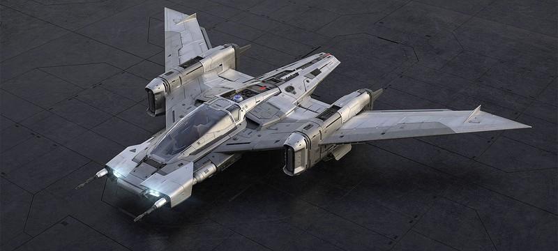 Porsche представила концепт космического корабля для Star Wars