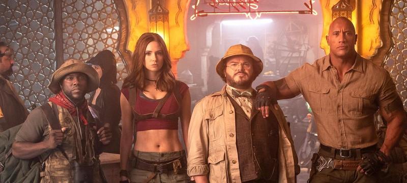 """Box Office: Сиквел """"Джуманджи"""" стартовал лучше прогнозов"""