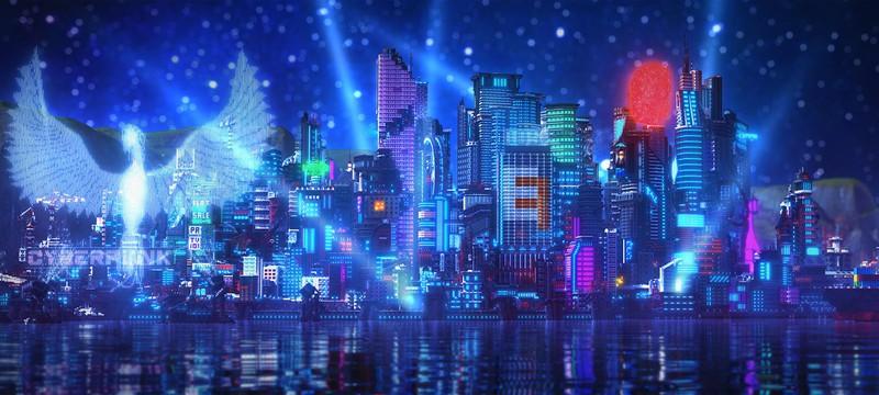 Найт-Сити из Cyberpunk 2077 воссоздали в Minecraft