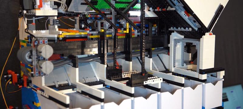 Энтузиаст построил устройство для сортировки деталек Lego