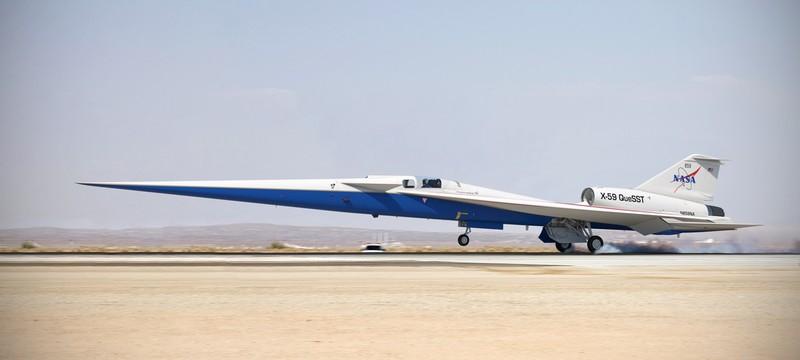 Сверхзвуковой самолет X-59 готов к финальной сборке