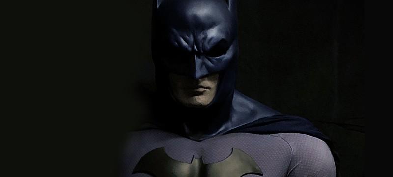 Скульптор изобразил Роберта Паттинсона в маске Бэтмена