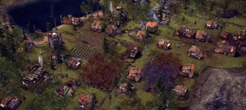Строительство постапокалиптического поселения в трейлере градостроительной стратегии Endzone: A World Apart