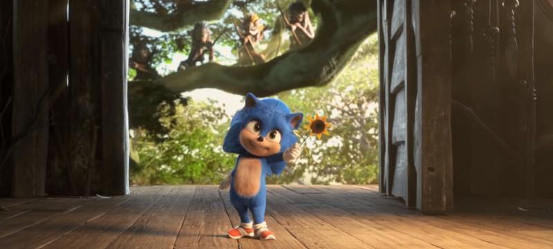 """Sega показала малыша Соника из фильма """"Соник в кино"""""""