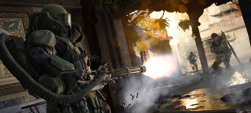 В Call of Duty: Modern Warfare игрока может убить стул