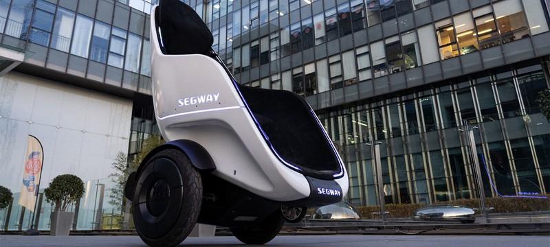 Segway представила прототип двухколесного электрокресла