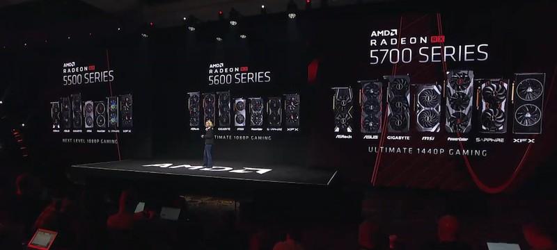 CES 2020: AMD анонсировала видеокарту Radeon RX 5600