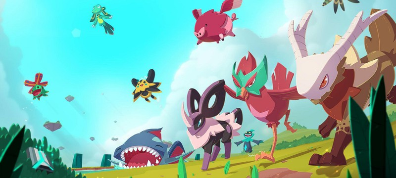 """Создание персонажа, выбор первого """"покемона"""" и сражения в геймплее стартовых 17 минут Temtem"""