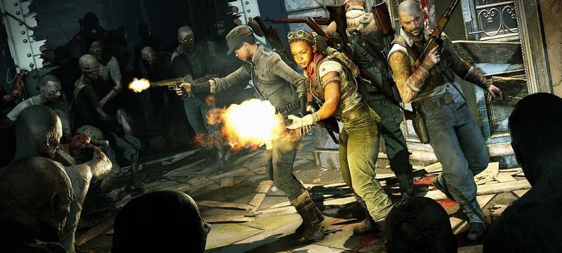 Уничтожение сотен зомби в геймплее Zombie Army 4: Dead War