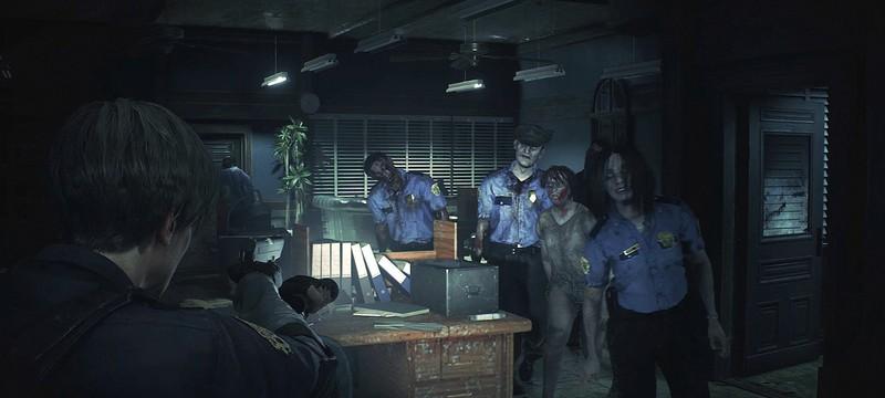 Мод для Resident Evil 2 делает анимацию зомби на дальних дистанциях более плавной