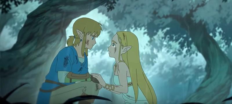 The Legend of Zelda: Breath of the Wild воссоздали в стиле аниме