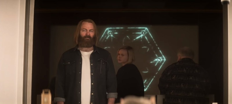 Злодей Ник Офферман в первом трейлере сериала Devs