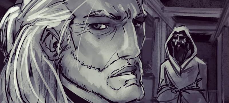 """Портальная погоня и засада с Мышовуром — раскадровки еще двух сцен """"Ведьмака"""""""
