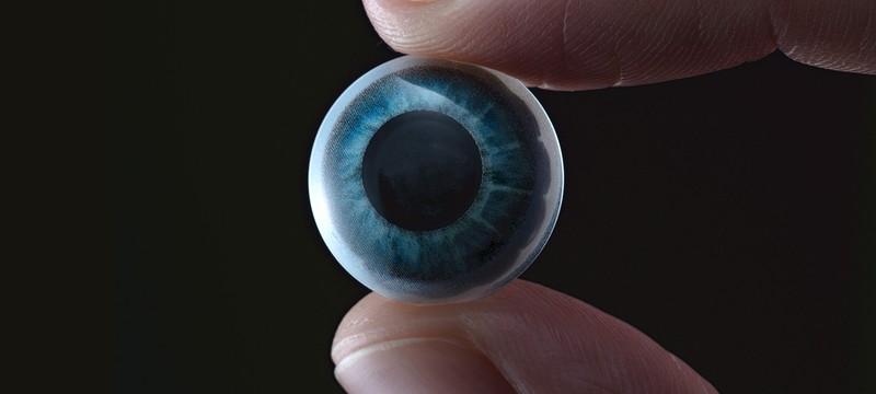 Стартап представил рабочий прототип контактной линзы с дисплеем 14000 пикселей на дюйм