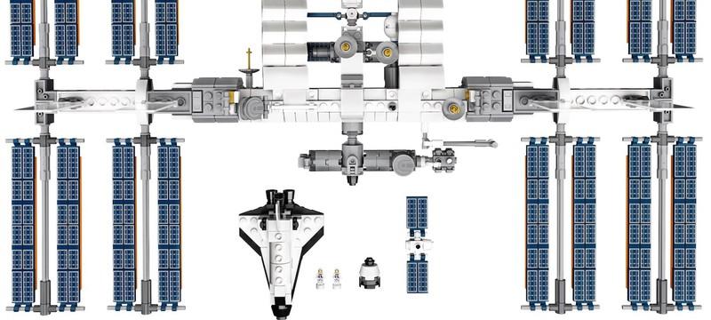 LEGO выпустит набор с Международной космической станцией