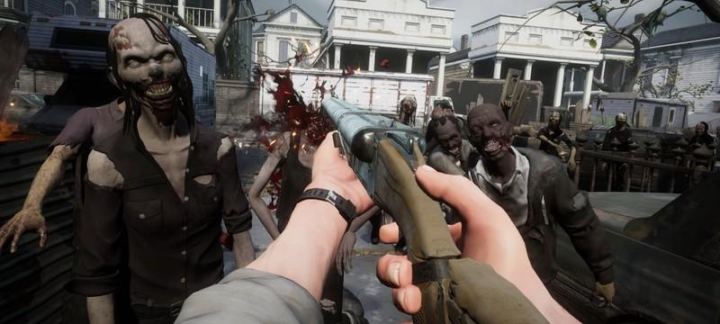 Захваченный зомби город в геймплее The Walking Dead: Saints & Sinners