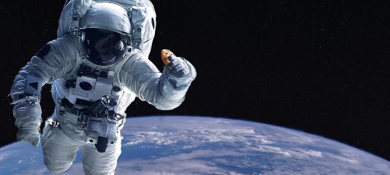Эксперименты в космосе: Астронавты испекли печенье на МКС