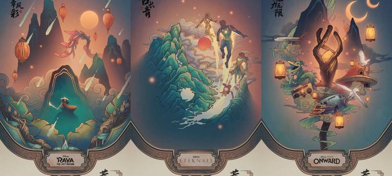 Disney показала постеры своих фильмов в честь китайского Нового года