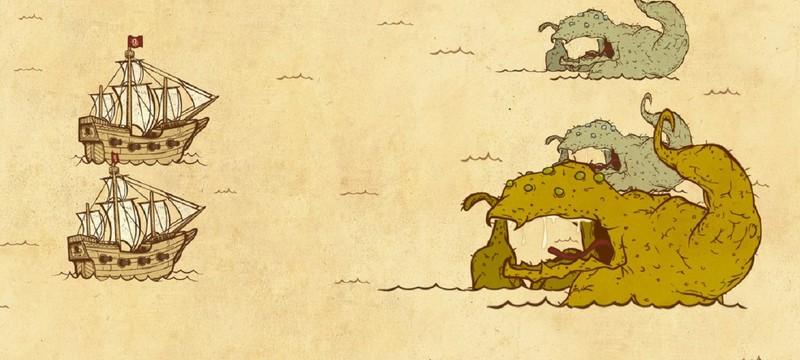 Война с морскими чудовищами в тизере полной версии Here Be Dragons