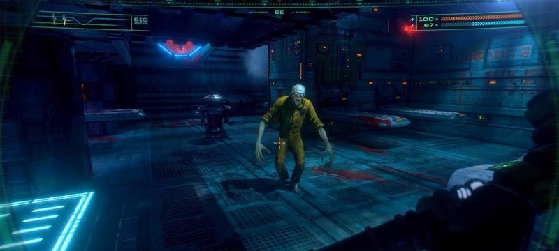 Больше часа геймплея ремейка System Shock