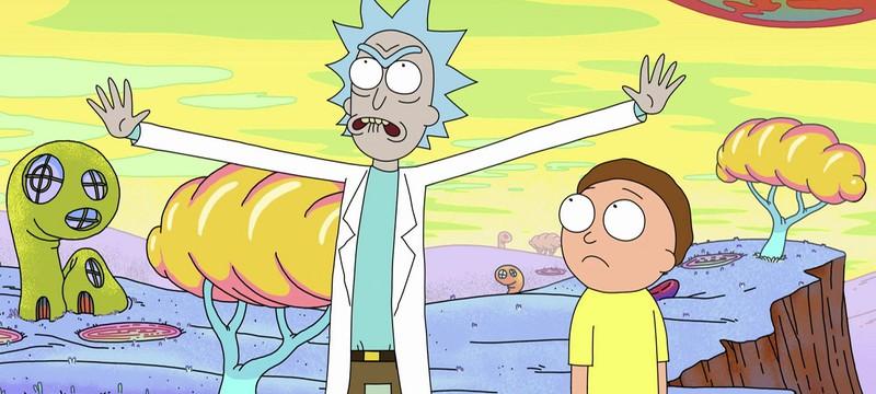 Рик и Морти попали в измерение чипсов в новом рекламном ролике
