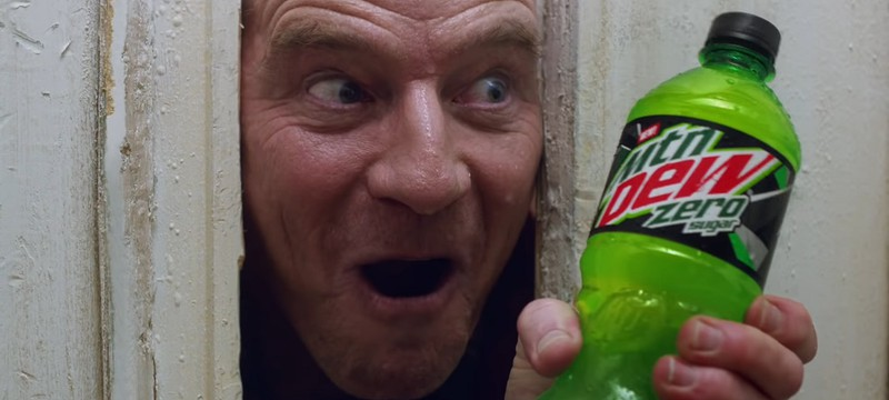 """Mountain Dew сделала рекламу-пародию в стиле """"Сияния"""""""