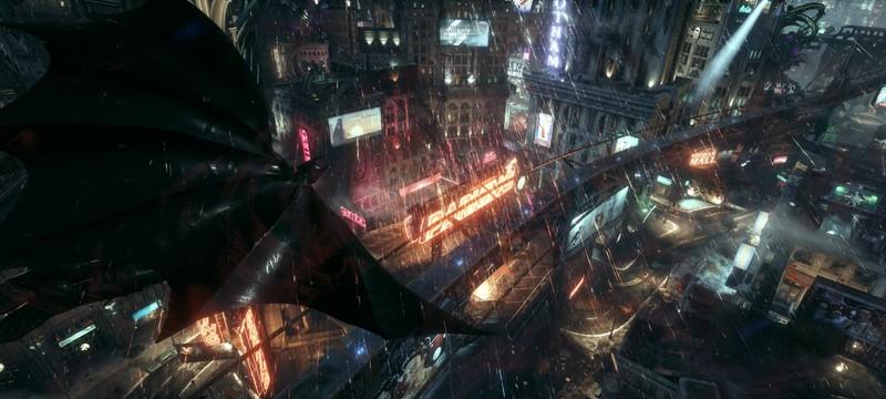 Слух: В новой игре про Бэтмена будет Бэтцикл