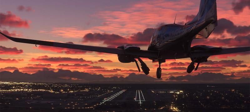 Утечка: Почти час геймплея Microsoft Flight Simulator