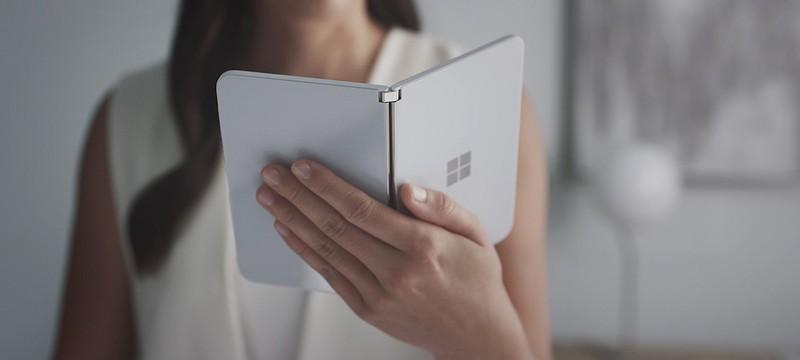 Складной смартфон Microsoft Surface Duo показали на видео