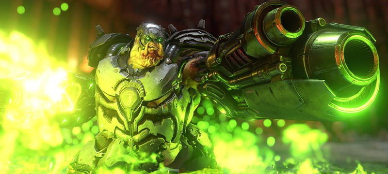 Почти 15 минут геймлпея Doom Eternal на максимальном уровне сложности