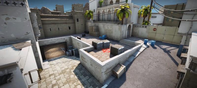 Игроки Fortnite воссоздали в игре карту Dust 2 из Counter-Strike
