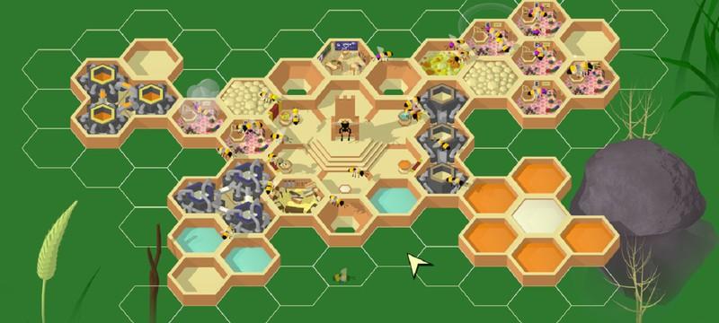 Новый трейлер Hive Time — бесплатной градостроительной стратегии про пчел
