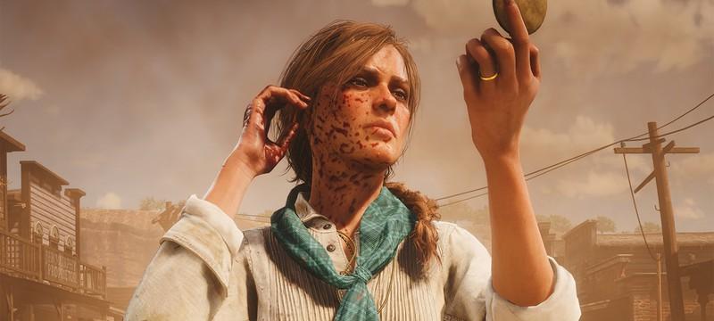 По загадочной причине один NPC в Red Dead Redemption 2 зарезал другого ради спасения игрока
