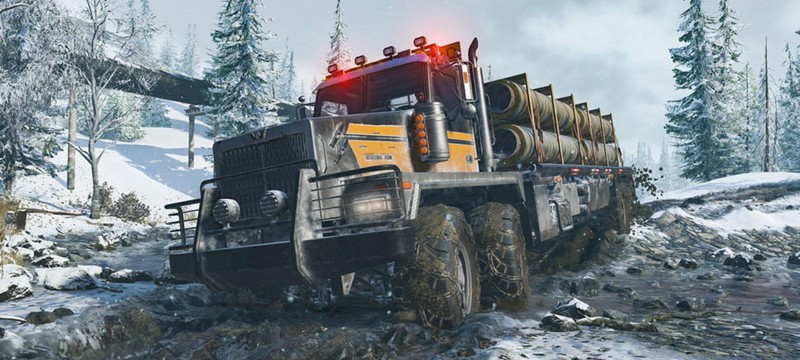 Покорение дикой местности — новый трейлер SnowRunner