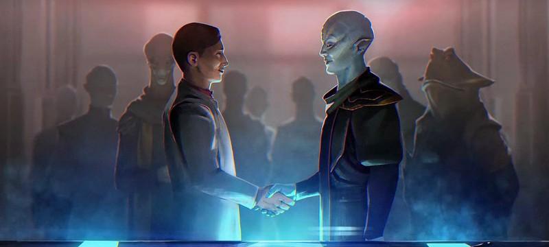 Дипломатическое дополнение Stellaris: Federations выйдет 17 марта