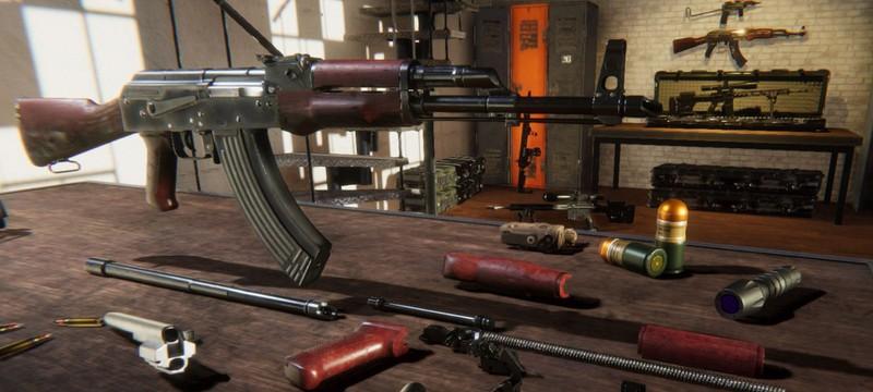 Ремонт, настройка и покраска оружия в трейлере Gunsmith Simulator