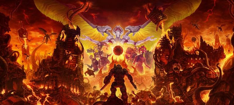 Doom Eternal не будет работать в нативном 4K на Stadia