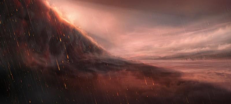 Астрономы подтвердили наличие железных дождей на одной из экзопланет