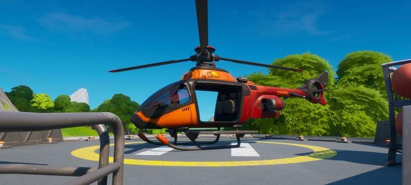 В Fortnite появились вертолеты
