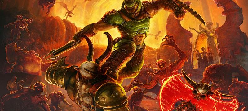 Первые 25 минут, самые брутальные убийства и игра без интерфейса в геймплее Doom Eternal