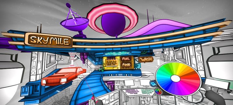 Состоялся релиз Color Space — VR-раскраски для Oculus Rift и Oculus Quest