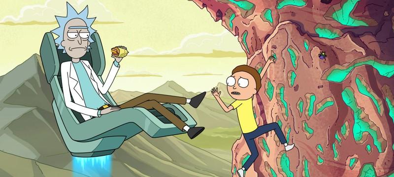 """2x2: """"Рик и Морти"""" вернутся в мае"""