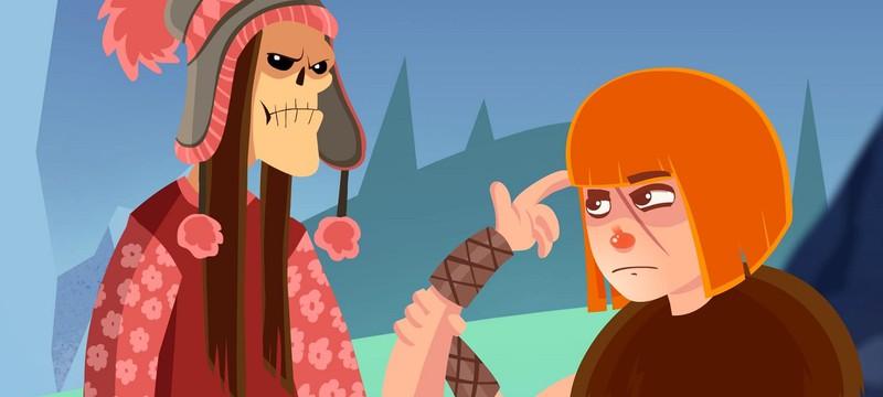 Управление конечностями мертвого викинга в геймплее Helheim Hassle