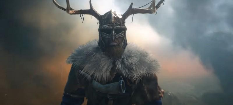 Осада викингов в синематике сурвайвал-стратегии Gloria Victis: Siege