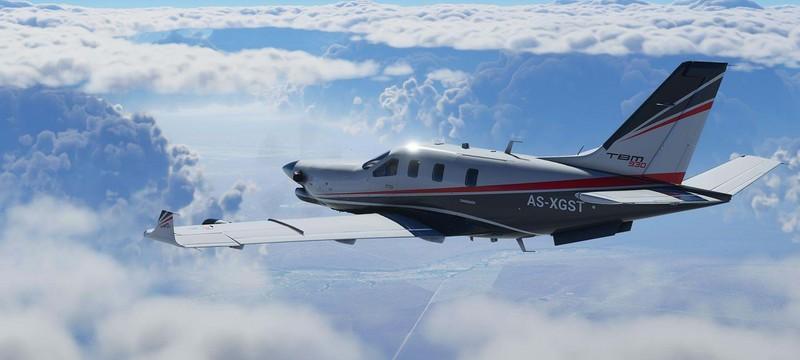 Microsoft Flight Simulator будет имитировать воздушный трафик в реальном времени