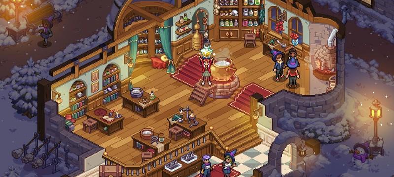 Новые скриншоты симулятора магической школы WitchBrook